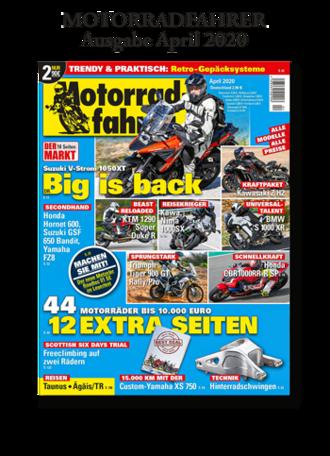 »Motorradfahrer« April 2020