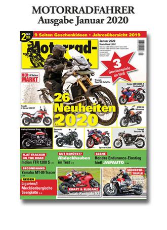 Motorradfahrer« Ausgabe Januar 2020