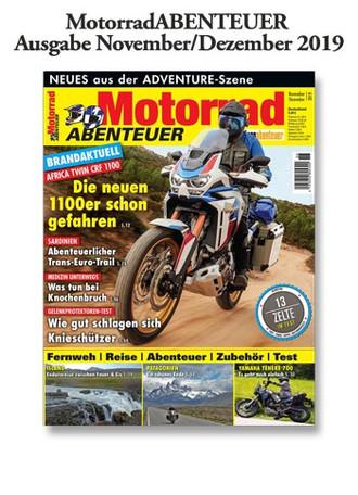 MotorradABENTEUER Ausgabe November/Dezember 2019
