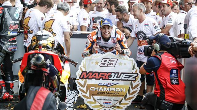 Marc Marquez wird zum achten Mal Weltmeister im MotoGP