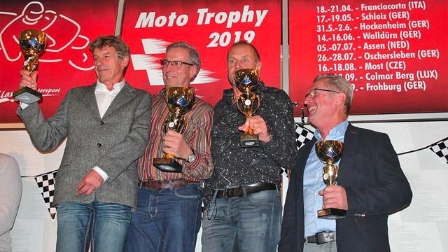 Siegerehrung Moto Trophy 2019