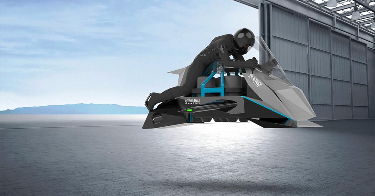 летающий мотоцикл картинка некоторые считают, решили