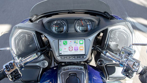 Indian Motorcycle integriert Apple CarPlay
