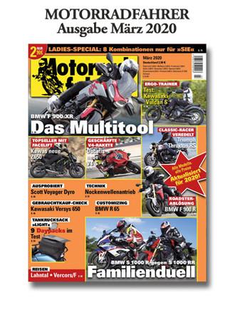 »Motorradfahrer« März 2020