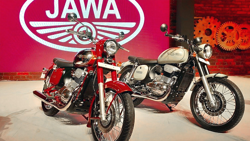 Jawa Relaunch in Indien