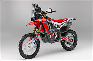 Honda HRC CRF 450 Rally 2014