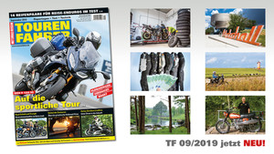 TOURENFAHRER September 2019 am Kiosk