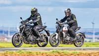 Triumph Trident 660 / Yamaha MT-07 – TOURENFAHRER 10/2021