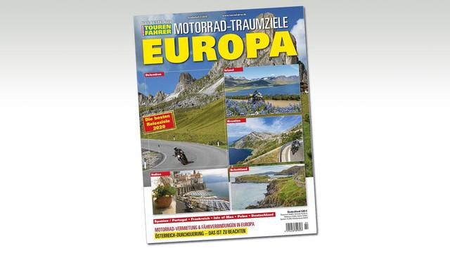TOURENFAHRER-Sonderheft Motorrad-Traumziele Europa