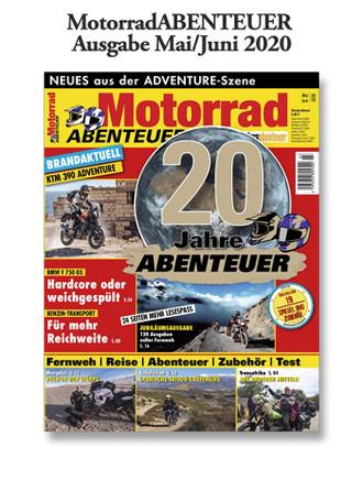 MotorradABENTEUER Ausgabe Mai/Juni 2020