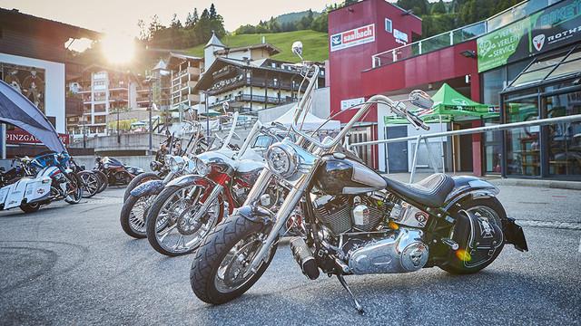 Biker Mania in Saalbach-Hinterglemm
