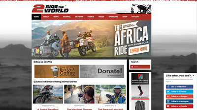 www.2ridetheworld.com | Simon und Lisa Thomas
