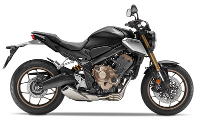 Honda CB 650 R, Modell 2021, Mat Gunpowder Black Metallic