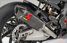 BMW HP4 Race: Akrapovic Abgasanlage