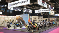Auftritt von BMW Motorrad auf der Milipol Paris 2021