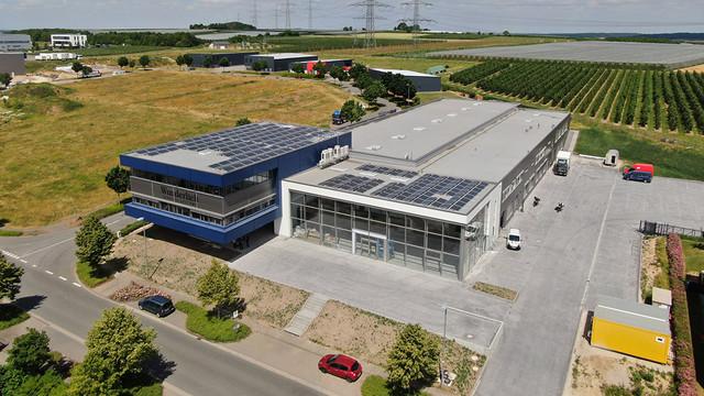 Neue Wunderlich Firmenzentrale in Grafschaft-Ringen