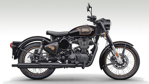 Royal Enfield Classic 500 Tribute Black BS IV