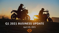 Harley-Davidson Quartalszahlen 01-2021