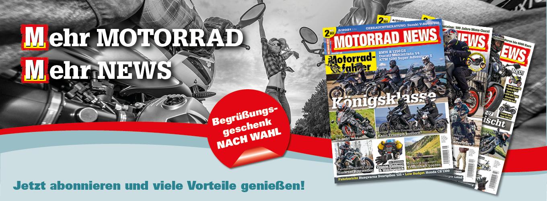 MOTORRAD NEWS im Abo