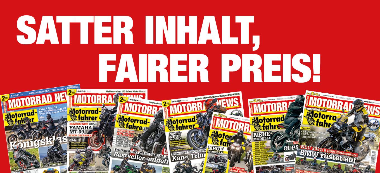 MOTORRAD NEWS – Satter Inhalt, fairer Preis