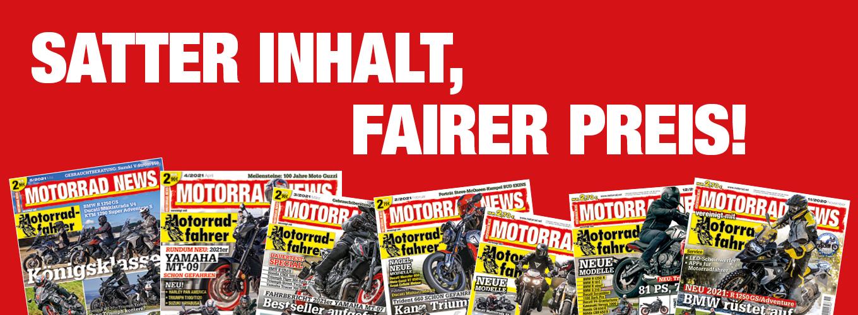 MOTORRAD NEWS – Satter Inhalt, fairer Preis!