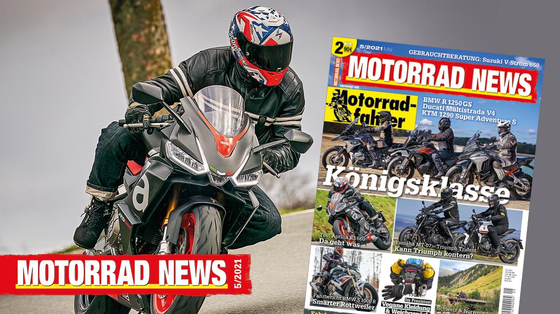 MOTORRAD NEWS 5/21 – ab sofort im Handel