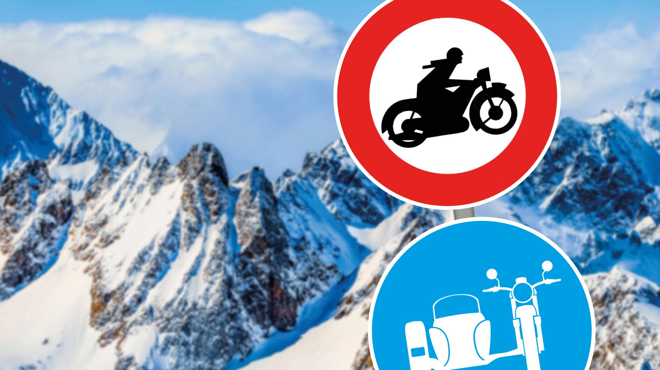 Motorradfahrverbote in Tirol | Frei Fahrt für Gespanne