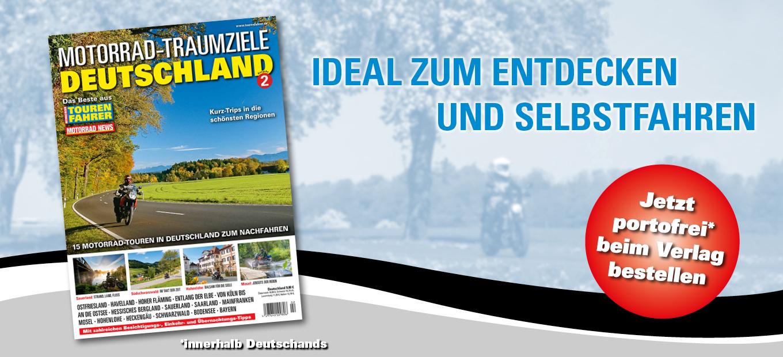 MOTORRAD-TRAUMZIELE DEUTSCHLAND Ausgabe 2