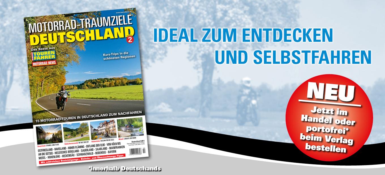 MOTORAD TRAUMZIELE Deutschland Ausgabe 2