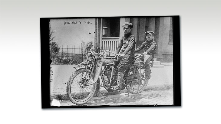 Abernathy Kids / Indian Motorcycle