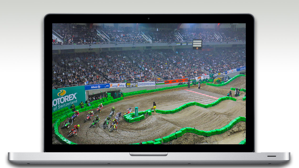 ADAC Supercross Dortmund 2021 als »Edition Home-Office«