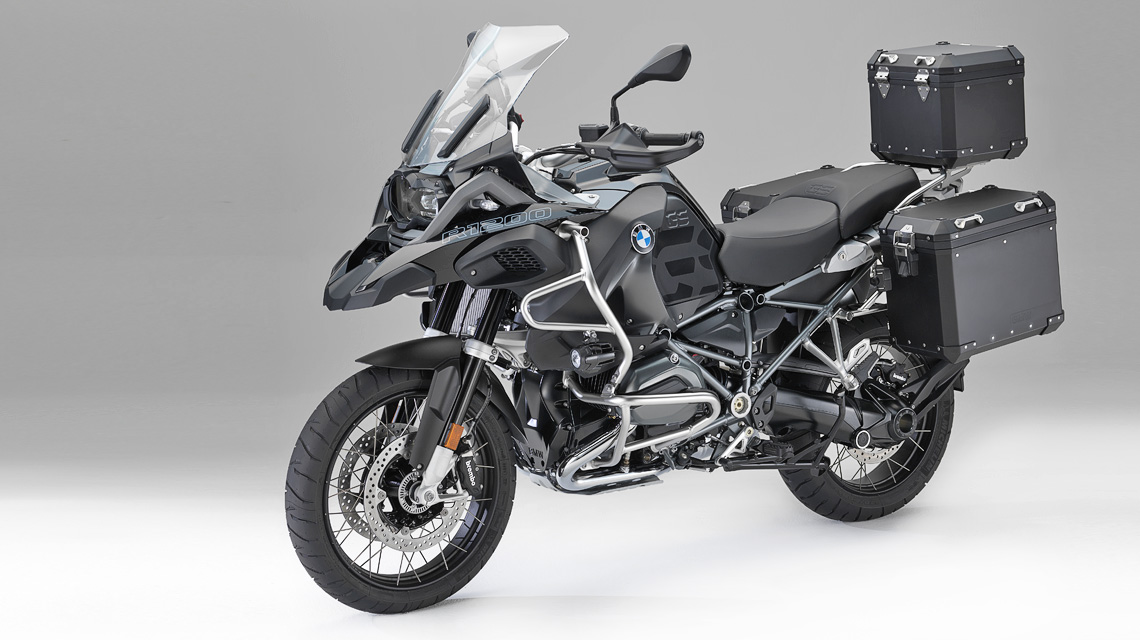 »Edition Black« für BMW R 1200 GS
