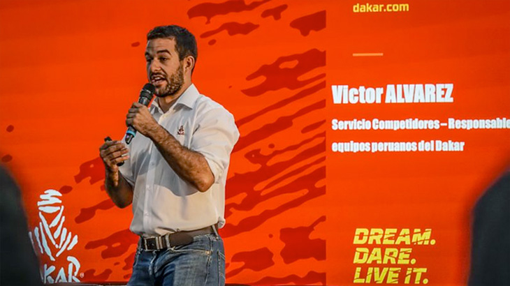 Präsentation Rally Dakar 2019