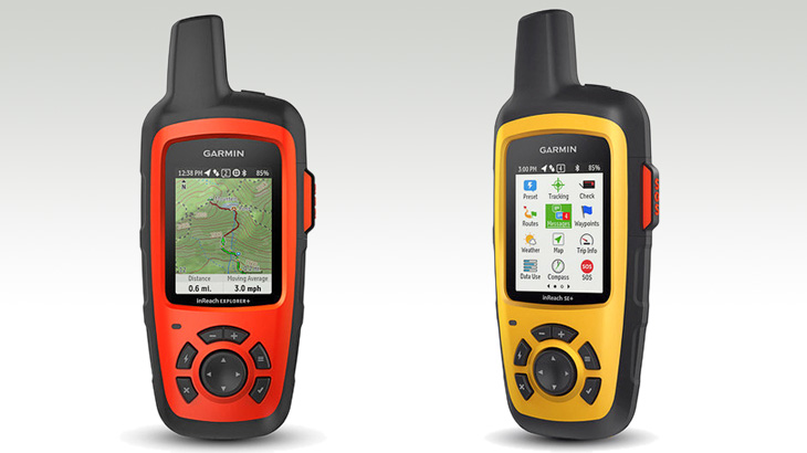 Garmin InReach Satellitenkommunikation und GPS