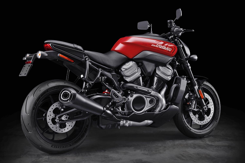 Harley Davidson mit Power, Performance und Stil auf der