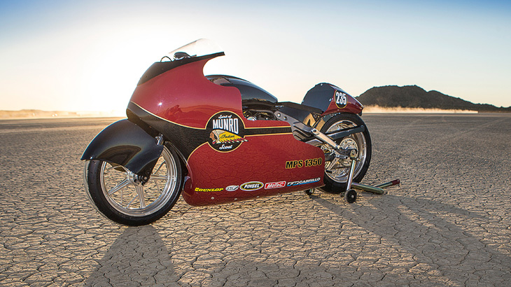 Indian: Hommage an Burt Munro in Bonneville