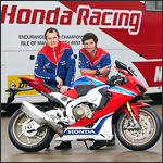 Honda Road Racing Team 2017: John McGuinness und Guy Martin mit CBR 1000 RR Fireblade SP-2