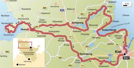Schleswig Holstein Karte.Schleswig Holstein Info Tourenfahrer