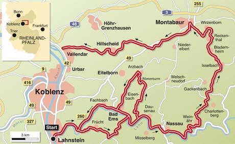 Westerwald Karte.Sudlicher Westerwald Info Tourenfahrer