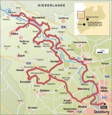 Karte Niederrhein.Motorradtouren Kompakt Niederrhein Info Und Karte Tourenfahrer