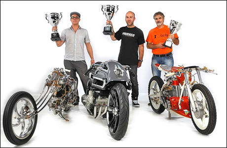 AMD World Championship of Custom Bike Building 2014 | Winner Freestyle