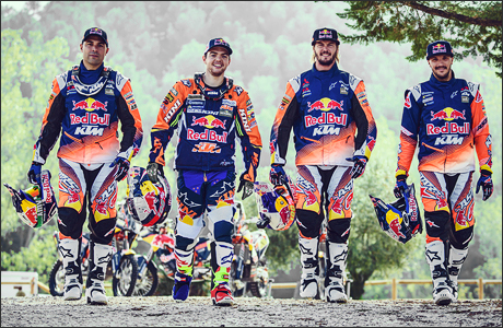 Red Bull KTM Factory Racing Team | Dakar 2017 | Antoine Meo, Matthias Walkner, Toby Price, Sam Sunderland.