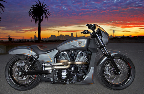 Victory 1200 Combustion by Zach Ness