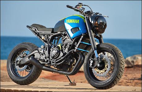 Yamaha XSR 700 Otokomae By Ad Hoc Cafe Racers