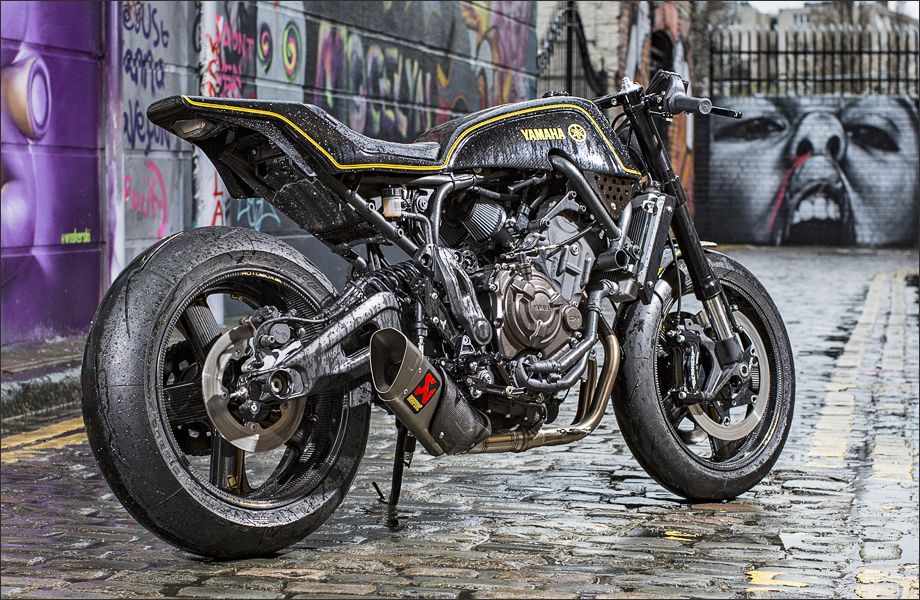 rough crafts umbau f r yamaha xsr 700 tourenfahrer. Black Bedroom Furniture Sets. Home Design Ideas
