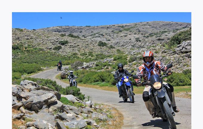 Kreta-Motocamp / Motorradhotel-Kreta