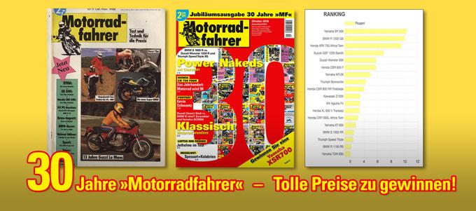 30 Jahre »Motorradfahrer«