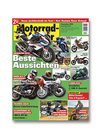 »Motorradfahrer« Dezember 2018