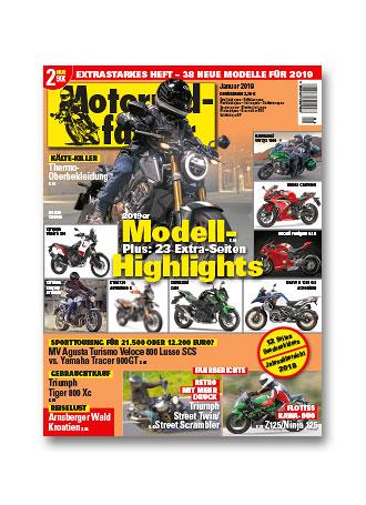 »Motorradfahrer« Januar 2018