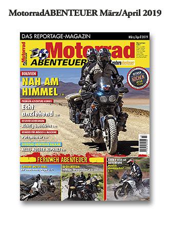 MotorradABENTEUER Ausgabe März/April 2019